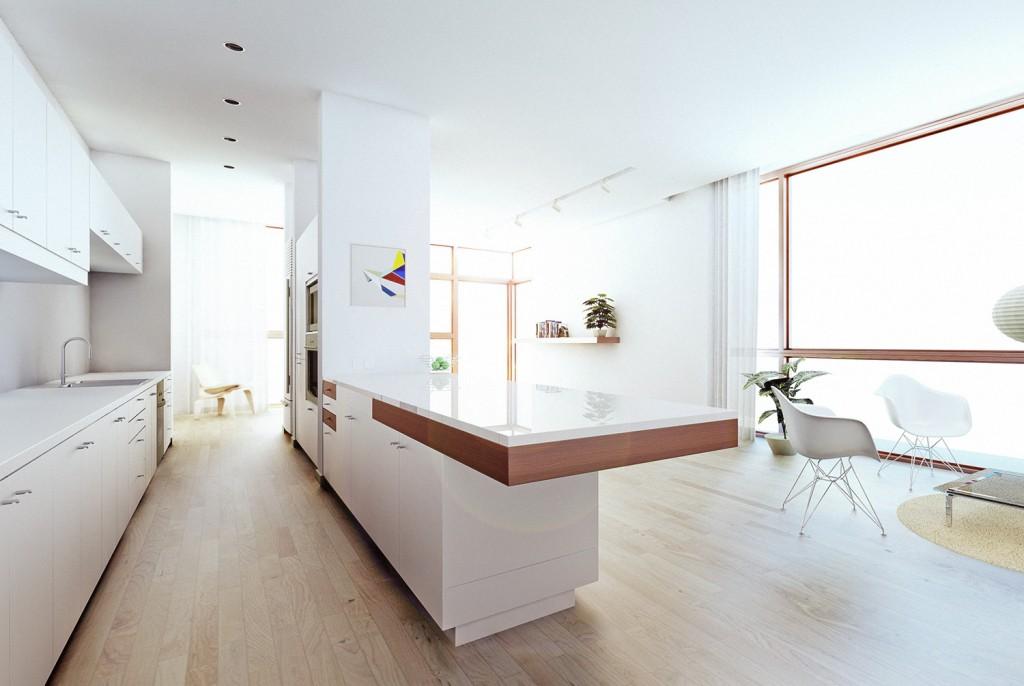 SU Podium fotorealitsch render SketchUp keuken